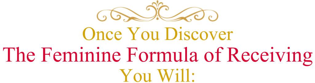 discover feminine formula receiving